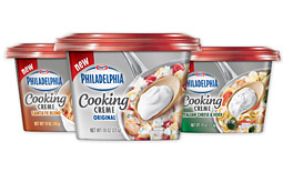 Philadelphia to Launch Massive Campaign For Cooking Creme