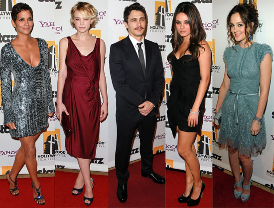2010 Hollywood Awards Including Carey Mulligan, Leighton Meester, Justin Timberlake, James Franco