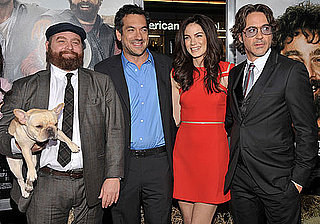 Pictures of Zach Galifianakis, Robert Downey Jr., and More at Due Date LA Premiere