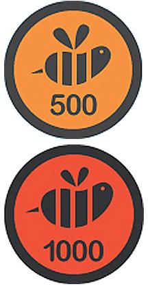 New Foursquare Swarm Badges