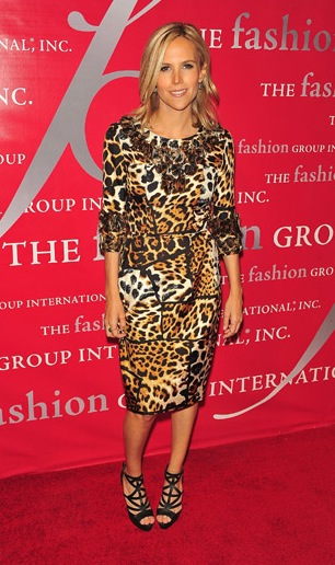 Tory Burch loves dressing up!