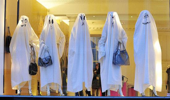 Photos of Stella McCartney's Spooky Halloween Window Display