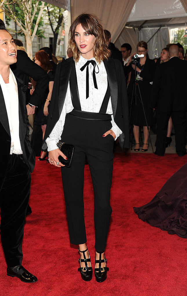 One of my favorite takes on menswear at the Fashion Institute Gala this year.
