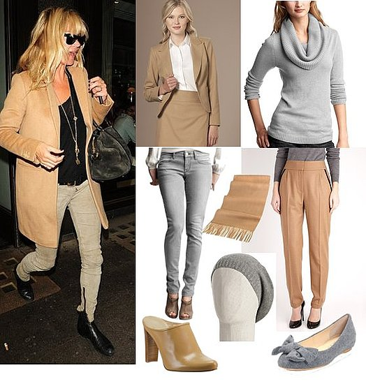 Kate Moss Wears a Camel Coat and Gray Jeans in London 2010-11-03 15:00:05