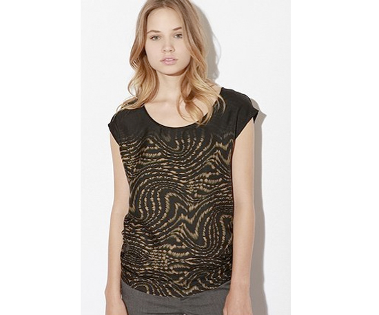 Urban Outfitters Dolce Vita Claude Silk Tee