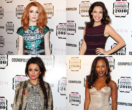 Photos of Celebrities at the 2010 Cosmopolitan Women of the Year Awards