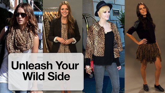 How to Wear Animal Print, Snakeskin, Leopard Print, Feathers