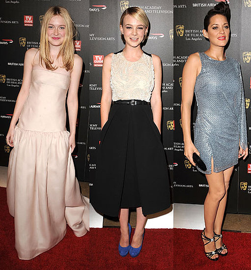 Photos de Carey Mulligan, Dakota Fanning, Marion Cotillard, Stephen Fry, Michael Sheen aux BAFTA Awards a Los Angeles