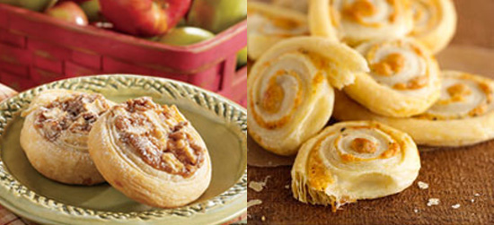 Sweet and Savory Puff Pastry Bites For Holiday Entertaining