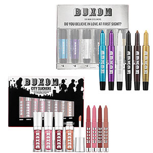 Enter to Win a Buxom Do You Believe in Love at First Sight? Mini Eyeliners Set and City Slickers Lip Colors 2010-11-26 23:30:00