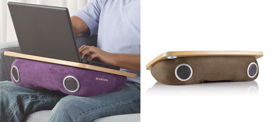 Laptop Speaker Lap Desk Jpg