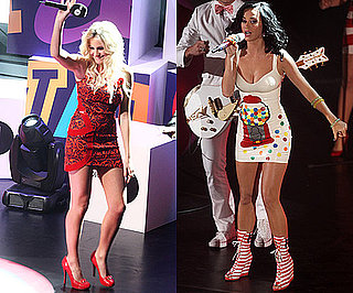 Photos of Katy Perry, Fearne Cotton and Pixie Lott On Stage at the Radio One Teen Awards