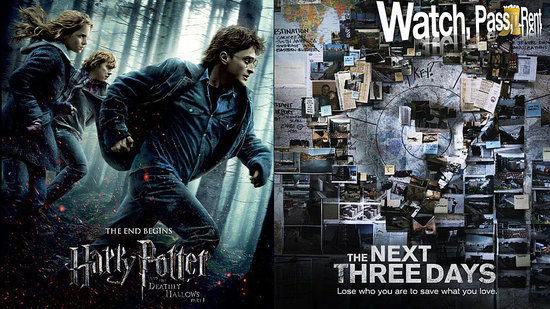 Harry Potter and the Deathly Hallows: Part I Movie Review and The Next Three Days Movie Review