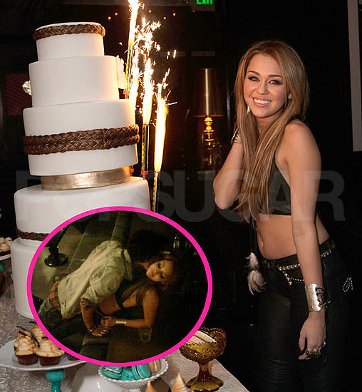 Pictures of Miley Cyrus in a Bikini Top Kissing Avan Jogia on Her Birthday