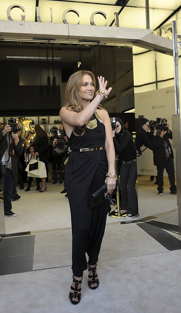 Jennifer Lopez at Launch of Gucci Children's Collection
