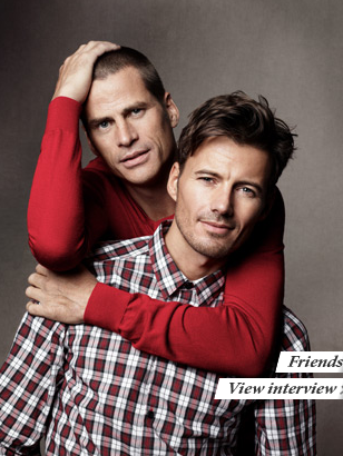 Remember these two hottie model friends? Mark Vanderloo and Alex Lundqvist.