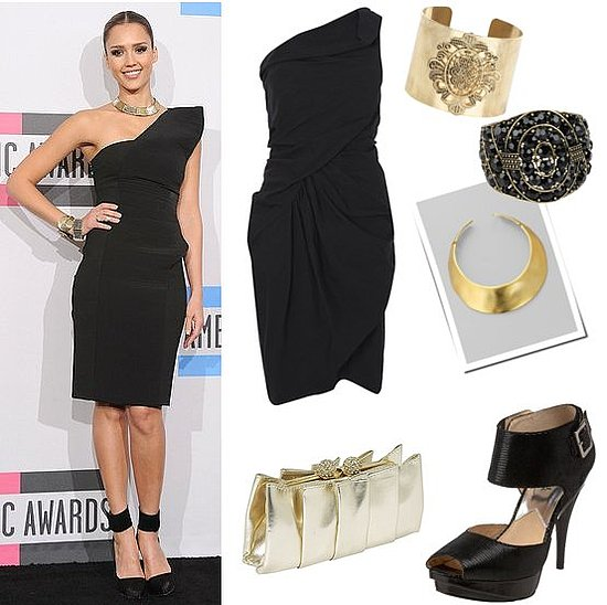 Pictures of Jessica Alba at the 2010 American Music Awards