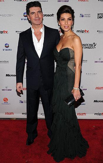 PIctures of Simon Cowell & Mezhgan Hussainy, Elisabeth Moss, Melissa Joan Hart, Ruth Wilson, International Emmy Awards 2010