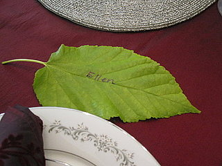 Fast Thanksgiving Placecards Idea