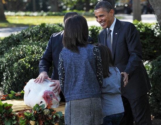 Obama Pardons Turkey For Thanksgiving