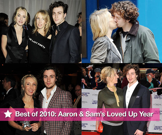 Best of 2010 Slideshow: Aaron Johnson & Sam Taylor-Wood's Loved Up Year!