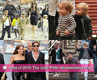 Best of 2010: The Jolie-Pitts' Globe-Trotting Year