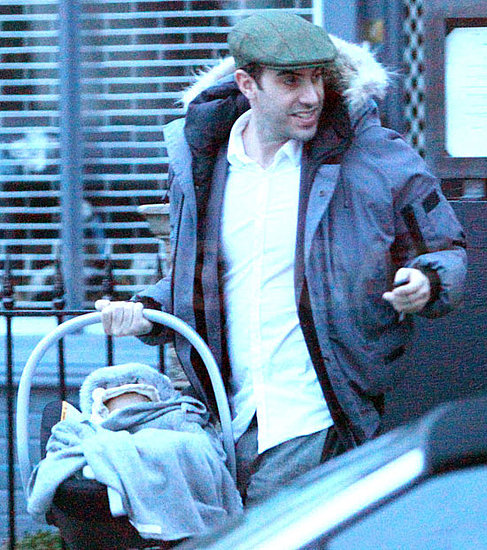 Pictures of Sacha Baron Cohen and Isla Fisher Dining With Their Youngest Child and Martin Scorsese