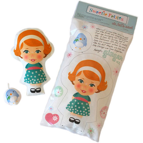 'Ginger' Sweetie Petite DIY Doll Kit