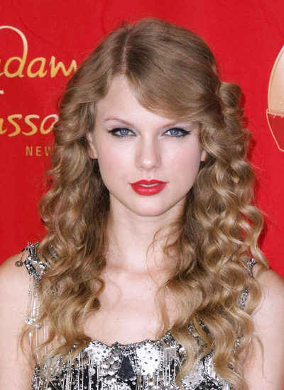 October 2010: Unveiling Her Wax Figure At Madame Tussauds