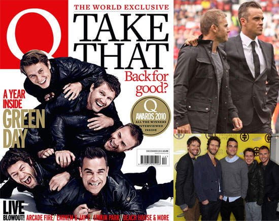 Biggest Headlines of 2010: Take That Reunited With Robbie Williams