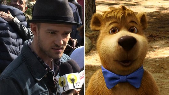 Video of Justin Timberlake Talking About Drinking Wine in Napa at the Yogi Bear Premiere 2010-12-13 12:29:54