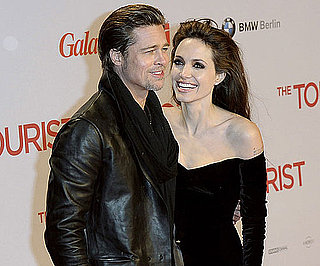 Slide Picture of Angelina Jolie and Brad Pitt at The Tourist Premiere in Berlin