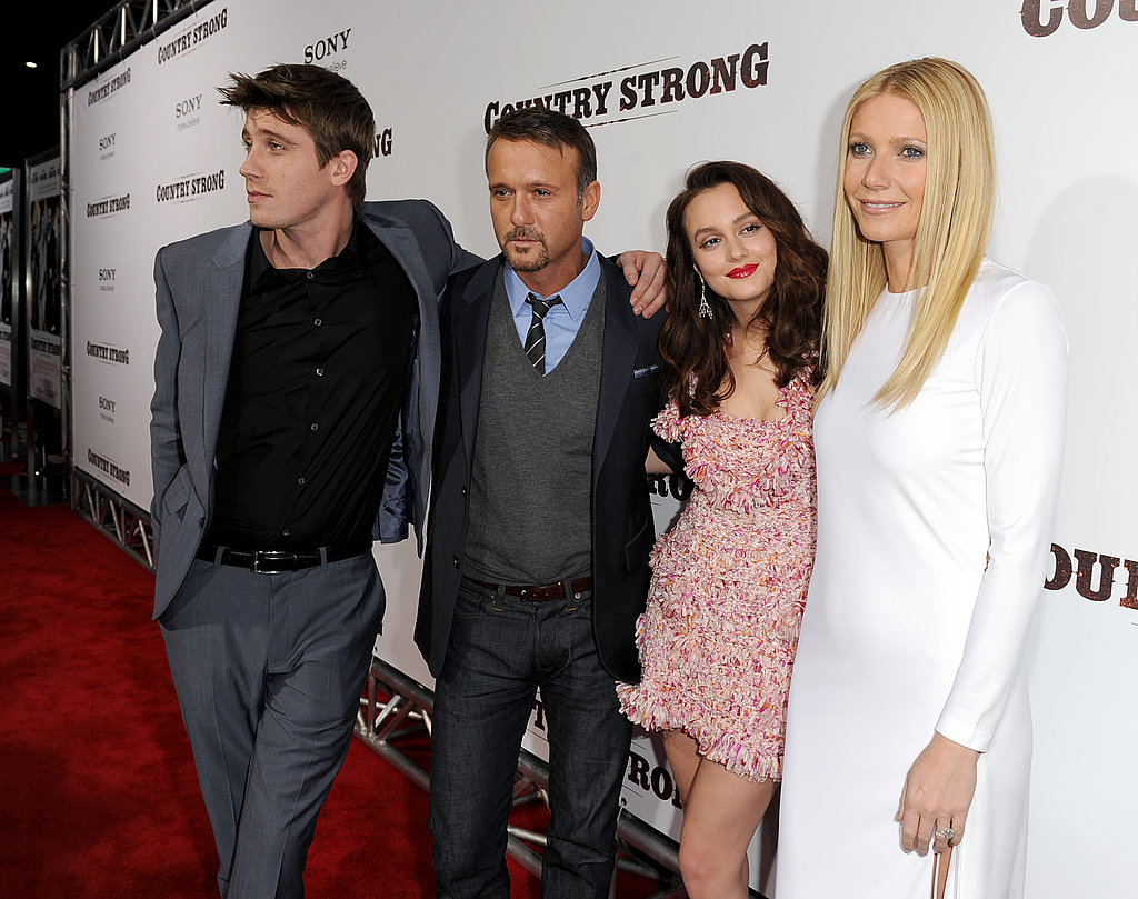 Gwyneth Paltrow, Faith Hill, Tim McGraw, Leighton Meester, Minka Kelly, and More at Country Strong Premiere in LA