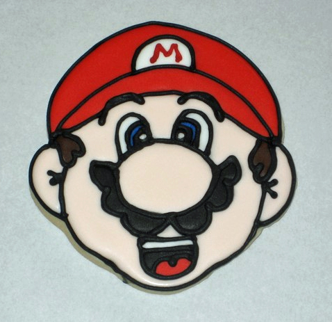 Mario Head Cookie