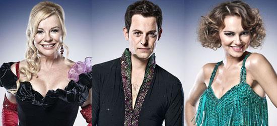 Pictures of Strictly Come Dancing 2010 Finalist Pamela Stephenson, Matt Baker, and Kara Tointon