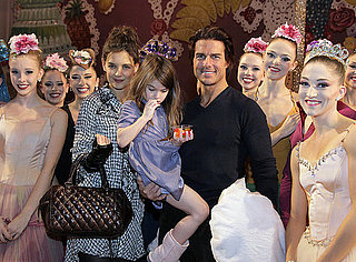 Pictures of Tom Cruise, Katie Holmes, and Suri at The Nutcracker in NYC