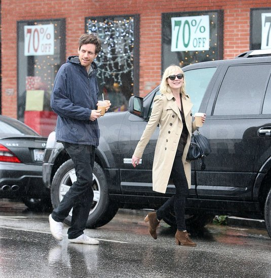 Pictures of Kirsten Dunst Out Shopping With Her Boyfriend Jason Boesel in LA