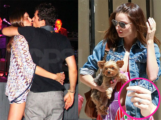 Pictures of Orlando Bloom and MIranda Kerr Throughout 2010