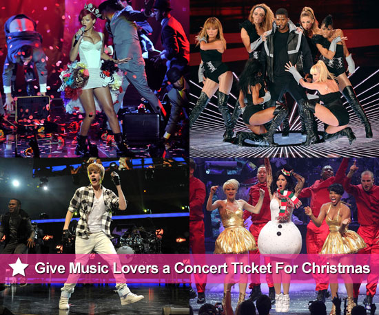 Buy Concert Tickets for Justin Bieber, Usher, Rihanna, Katy Perry and More for Christmas