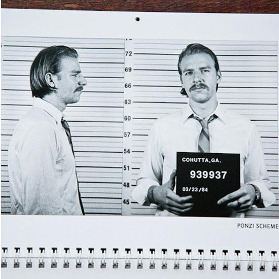 2011 Movember Moustache Calendar