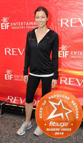 Jessica Biel Voted the Fittest Female Celebrity by FitSugar