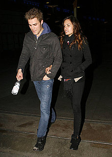 Pictures of Paul Wesley and his Girlfriend in LA