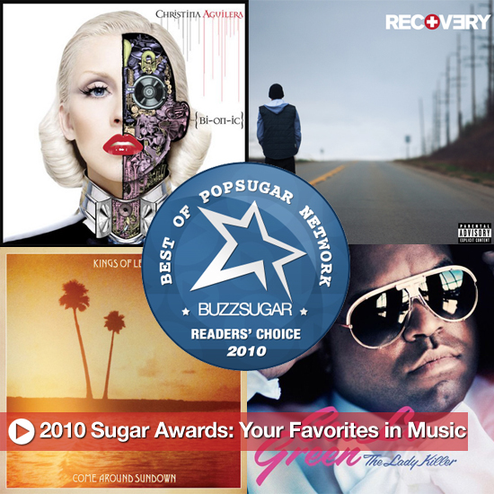Best Music Albums and Singles of 2010