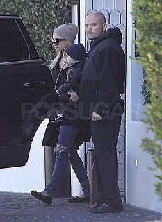 Pictures of Nicole Richie and Joel Madden With Sparrow in LA