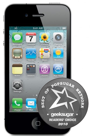 Best of 2010: iPhone 4 Is Best Phone