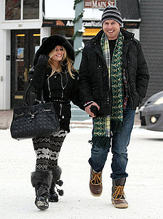 Pictures of Engaged Jessica Simpson in Aspen With Eric Johnson