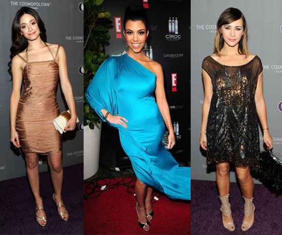 Pictures of Celebrity New Year's Eve Outfits