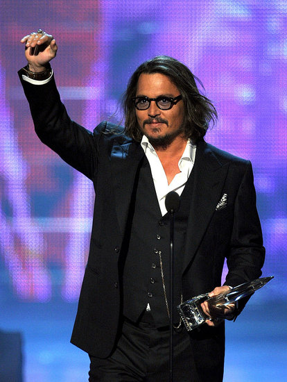 Pictures of Johnny Depp at 2011 People's Choice Awards 2011-01-05 19:20:38
