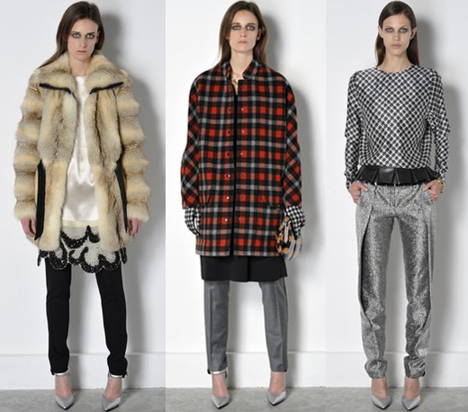 Nicolas Ghesquiere Debuts New Trends in Balenciaga Pre-Fall 2011 2011-01-07 03:33:05