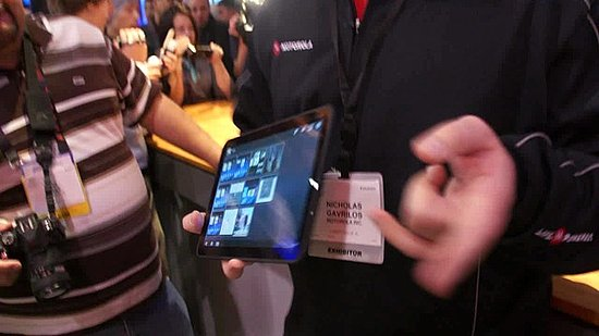 Motorola Xoom Demo at CES